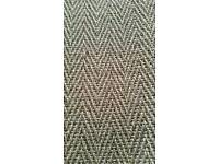 Crucial trading herringbone rug 3ft x 5ft new