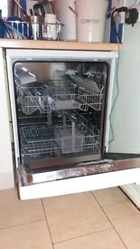 Bosch Dishwasher for sale, freestanding, full size, white, nearly new