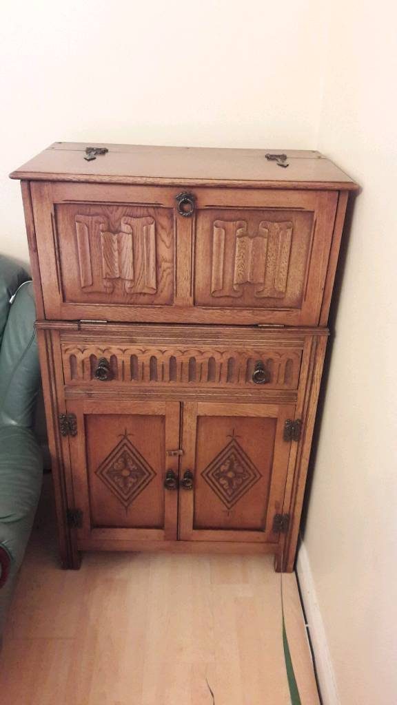 Real Wood Antique Cabinet