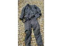 Motorcycle jacket and trousers