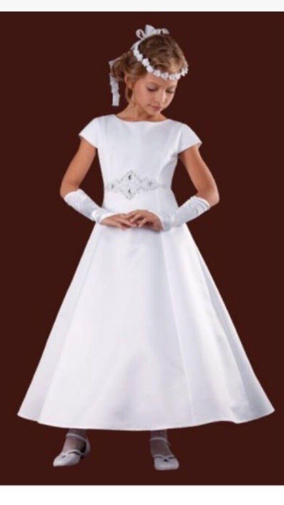 best authentic exclusive deals amazon First Holy Communion Dress Krespol 128/S | in Sutton, London | Gumtree