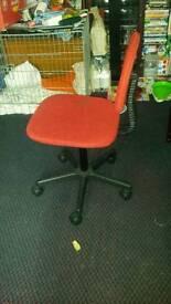 Argos Red office chair
