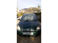 TOYOTA YARIS 1.0 12 months MOT great learner and first car. Most miles by careful lay driver