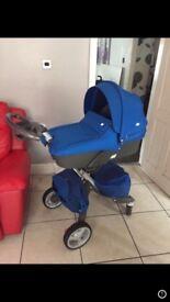 Stokke Blue Baby Pram