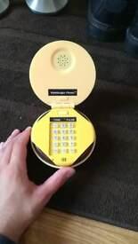 Hamburger phone