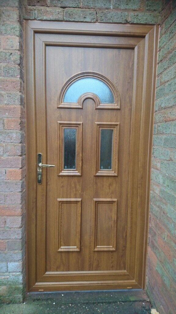BRAND NEW LIGHT OAK UPVC FRONT DOOR   in Sandwell, West Midlands ...