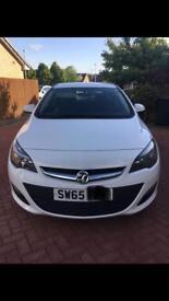 Vauxhall Astra 1.4 Excite 5 Door White