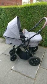Kinder kraft moov 3 in 1 stroller