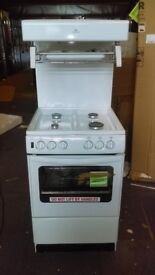 NEW WORLD NW55THLG Gas Cooker - White Ex Display