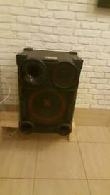 LG X BOOM speakers