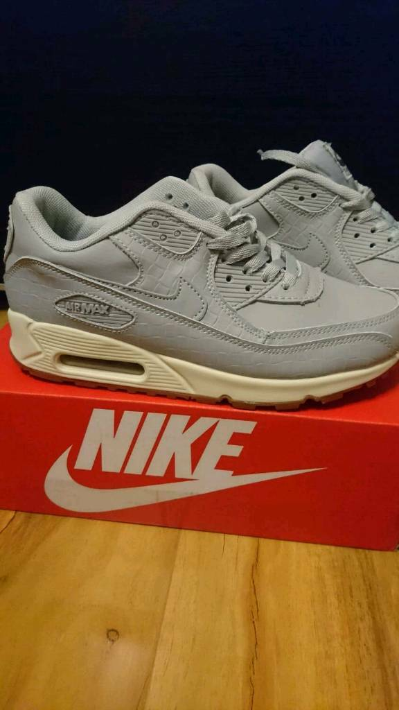 quite nice a7115 d1811 Nike Air max 90 Serpent Grey Air force 1 95 Size 7.5 Adidas ralph lauren air  jordan yeezy puma