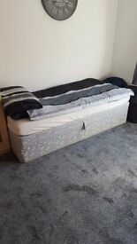 Single bed and mattress (collection only)