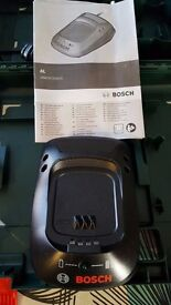 2no.Bosch Chargers and 1no. Battery - New