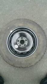 Vauxhall vivaro Renault traffic 2018 steel spare wheel Never used