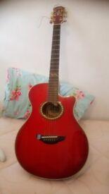Yamaha 1996 limited edition semi acoustic guitar