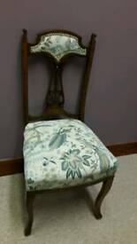 Lovely reupholstered chair