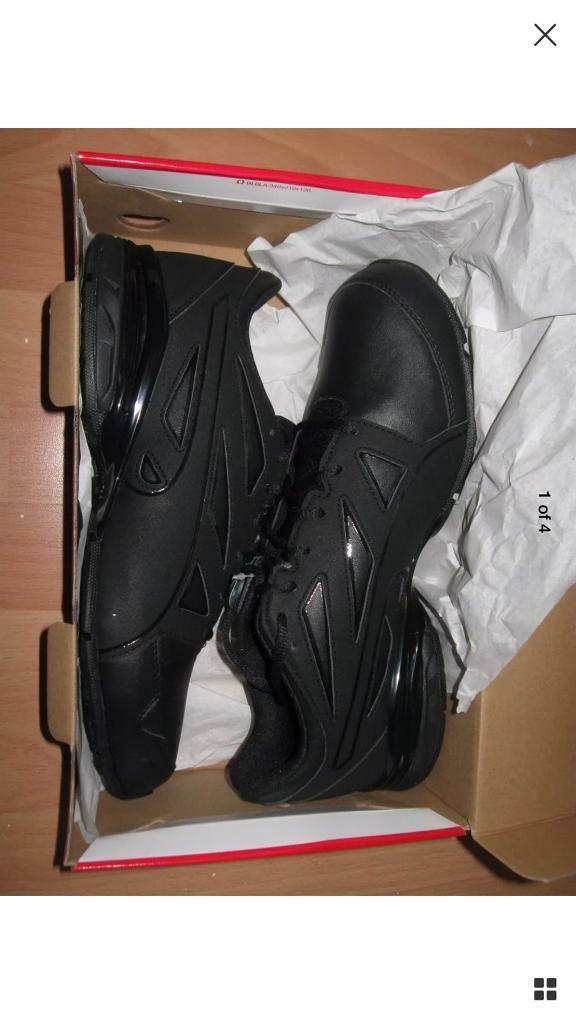 d1482be0de6b Puma Tazon Modern Fracture Mens Black Trainers UK Size 10
