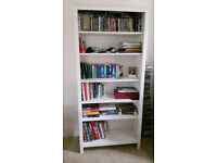 IKEA Bookcase, 6 Shelves, White