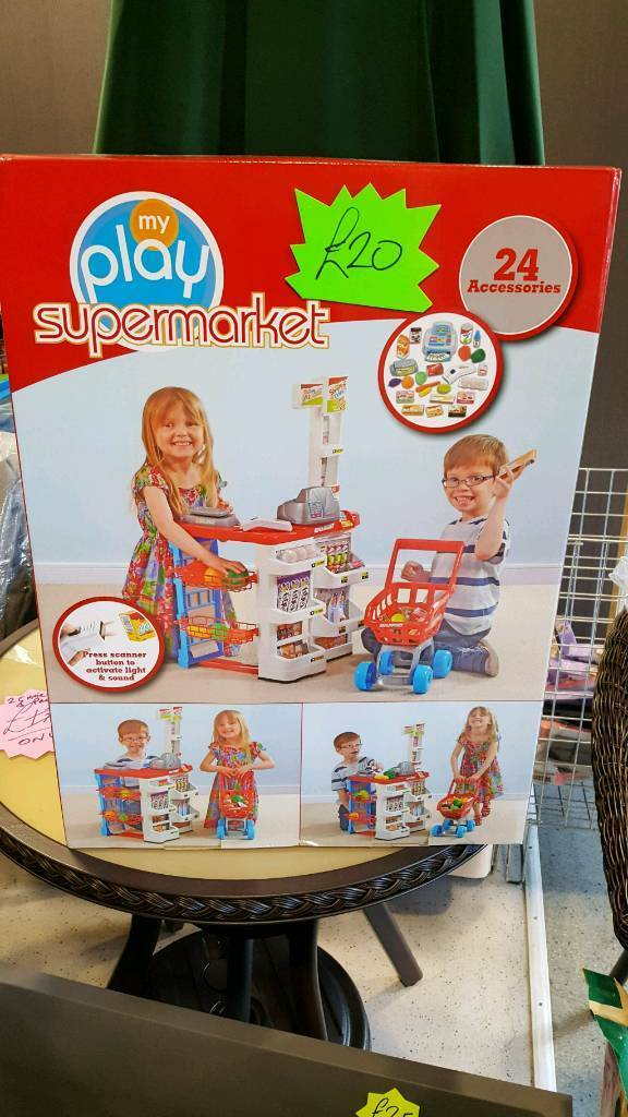 Supermarket play set