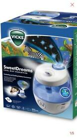 The Vicks SweetDreams Cool Mist Humidifier