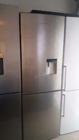 KENWOOD KFCD60X15 Fridge Freezer Stainless Steel 60cm Frost Free Water Dispenser