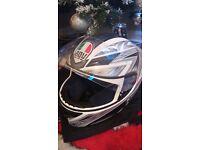 AGV size Small motorbike helmet, bike helmet used