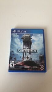 star wars: battle front PS4