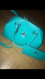 Vivienne Westwood Large Bag and matching purse