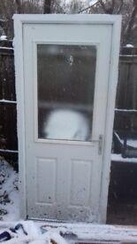 Rear Kitchen Door