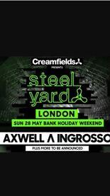 Axwell & Ingrosso London steel yard