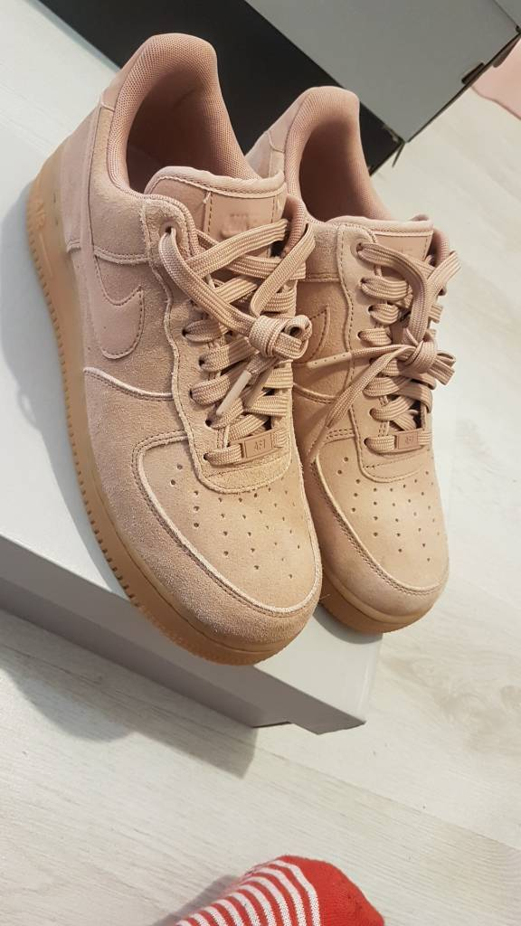 Nike Air force 1s suede size 7