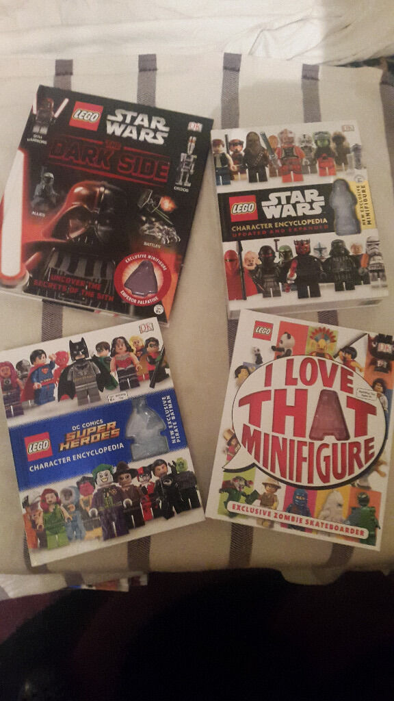 BRAND NEW Lego books BUNDLE!! Star Wars and SuperHeroes!!