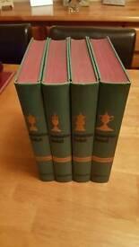 Association football Volumes 1 - 4 1960