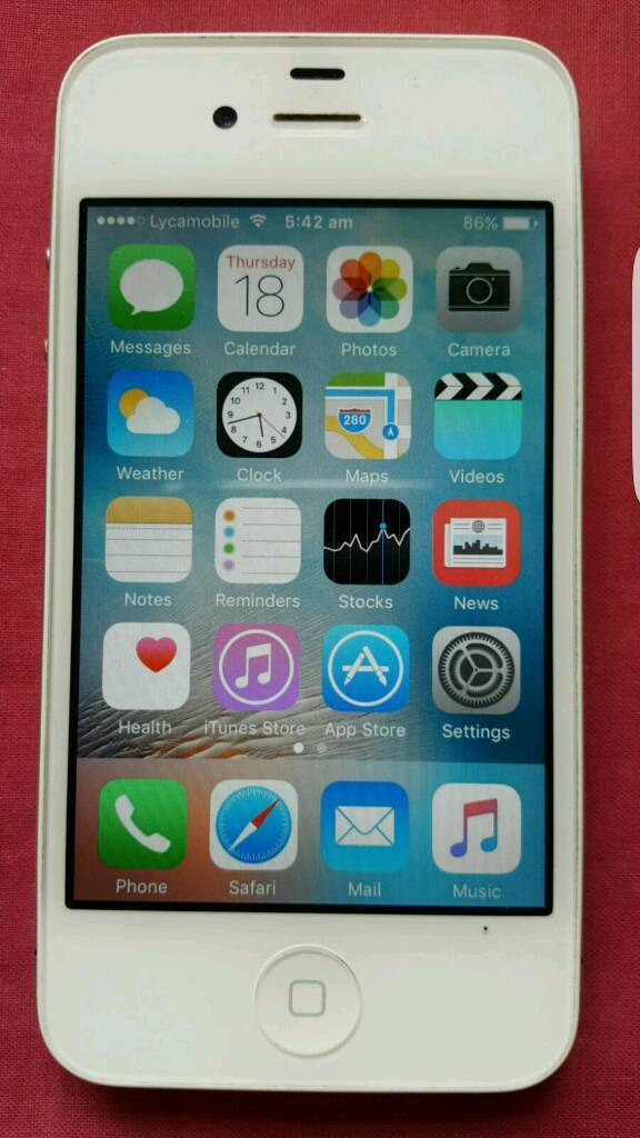Iphone 4s white unlocked mint conditionin Kingston, LondonGumtree - Iphone 4s whiteUnlocked for all simMint condition Always screen protector onCollection from kingston