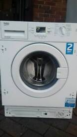Integrated wash machines Beko 7kg new never used offer sale £171