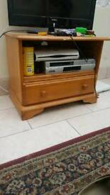 Pine tv cabinet £20