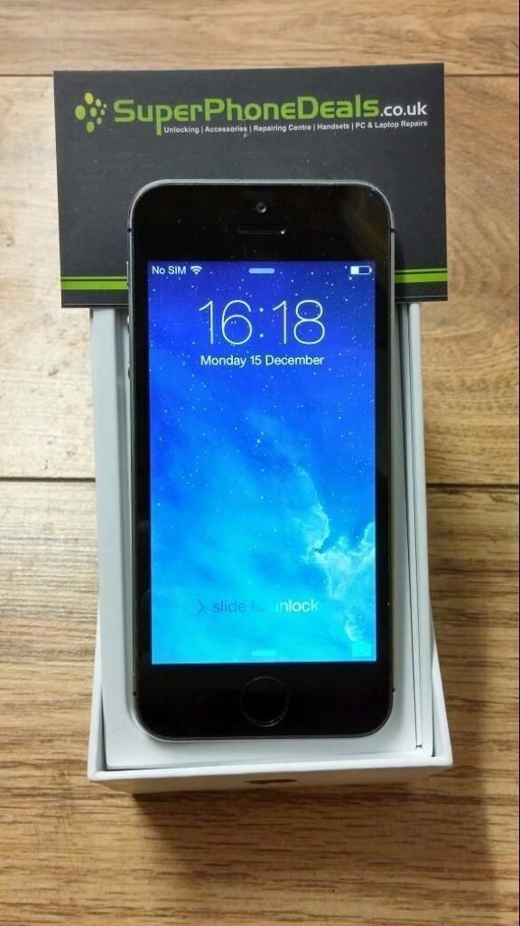 APPLE IPHONE 5S 16GBUNLOCKED TO ALL NETWORKSLIKE NEWAPPLE WARRANTY JAN 2018in Coventry, West MidlandsGumtree - APPLE IPHONE 5S 16GB UNLOCKED TO ALL NETWORKS LIKE NEW APPLE WARRANTY JAN 2018 USED ONLY FOR A FEW DAYS MINT CONDITION BOXED WITH CHARGER, EARPHONES AND CABLE RECEIPT WILL BE PROVIDED FOR TOTAL PEACE OF MIND TEL 02476 267847 REF AP1775 31380