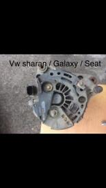 Vw sharan, Ford galaxy, Seat Alhambra - alternator, other parts on shelf