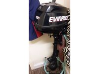 Outboard engine, Outboard Motor, Evinrude 3.5 HP 4-Stroke