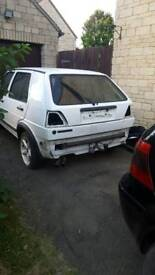 Mk2 golf breaking