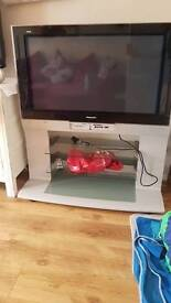 T.v. and stand