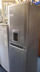 Silver fridge/freezer