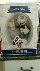 75th Anniversary Mickey Mouse Telephone - Limited Edition, Brand New & Very Rare!