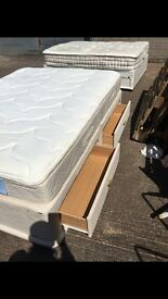 Sealy Millionaire Kingsize 5ft Mattress -- SECOND HAND --