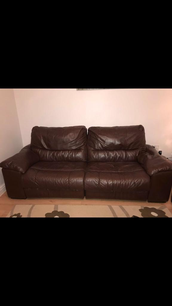 3 Seater Recliner 2 Seater Electric Recliner Leather Sofa In