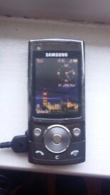 Samsung sgh- g600 mobile phone