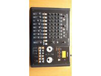 Digital 8 Track Recorder: Tascam DP-02FC Portastudio in pristine condition.