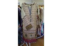 Beautiful ready made Kurtas by So Kamal in lawn material ideal for the summer only £20 each