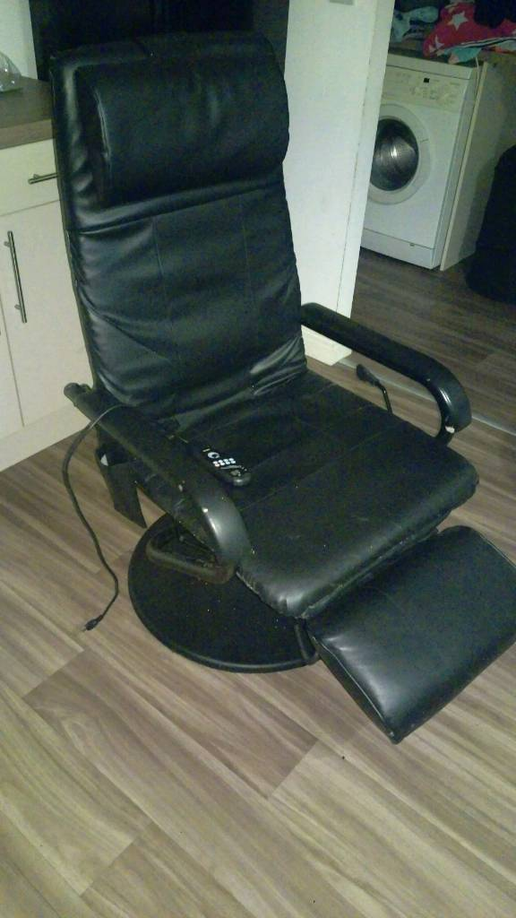 Massage computer chair