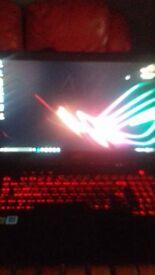 ROG STRIX Gaming Notebook prefect for all games 8gb windows 10 geforce gtx